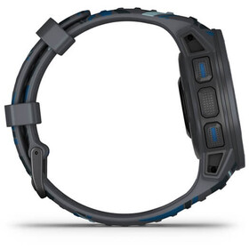 Garmin Instinct Solar Surf GPS Smartwatch, slate grey/blue